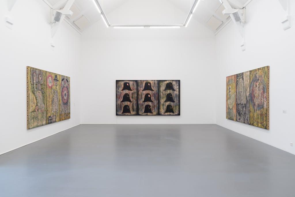 *Mime*, 2020, exhibition view, La Criée, Rennes. - © © Benoît Mauras, Paris Internationale