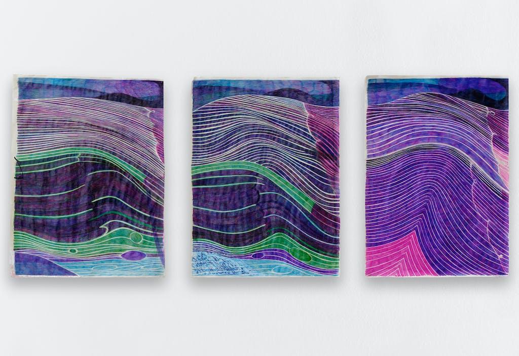 *Intérieur, pluie.,* 2020, exhibition view, Crèvecœur, Paris. - © © Aurélien Mole, Paris Internationale