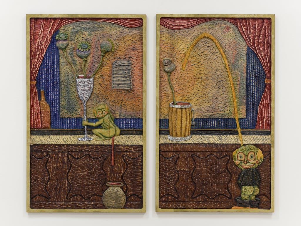 *Bar-None*, 2020, exhibition view, 15orient, New York. - © Paris Internationale