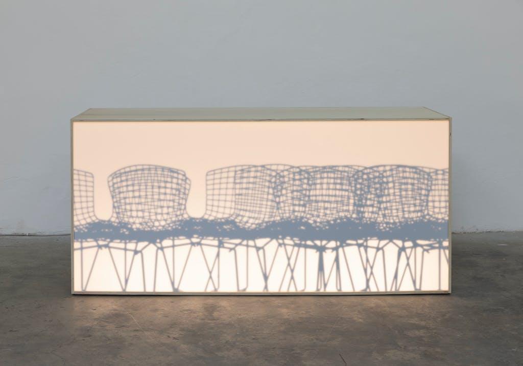 Untitled (Rhodiacéta Reception) - © Paris Internationale