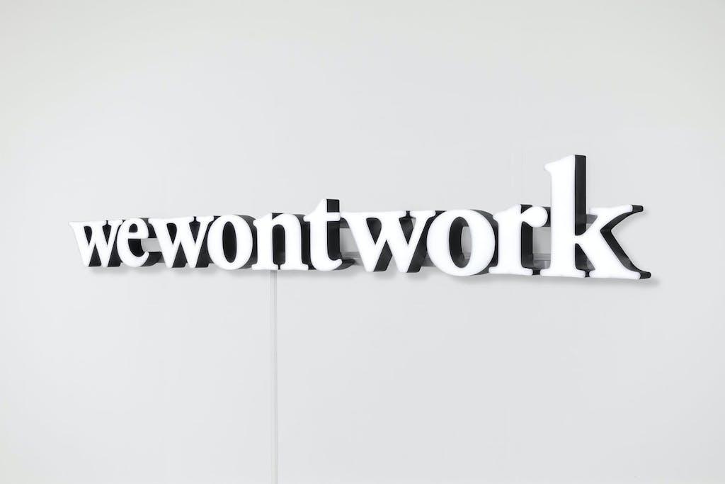 wewontwork - © Paris Internationale