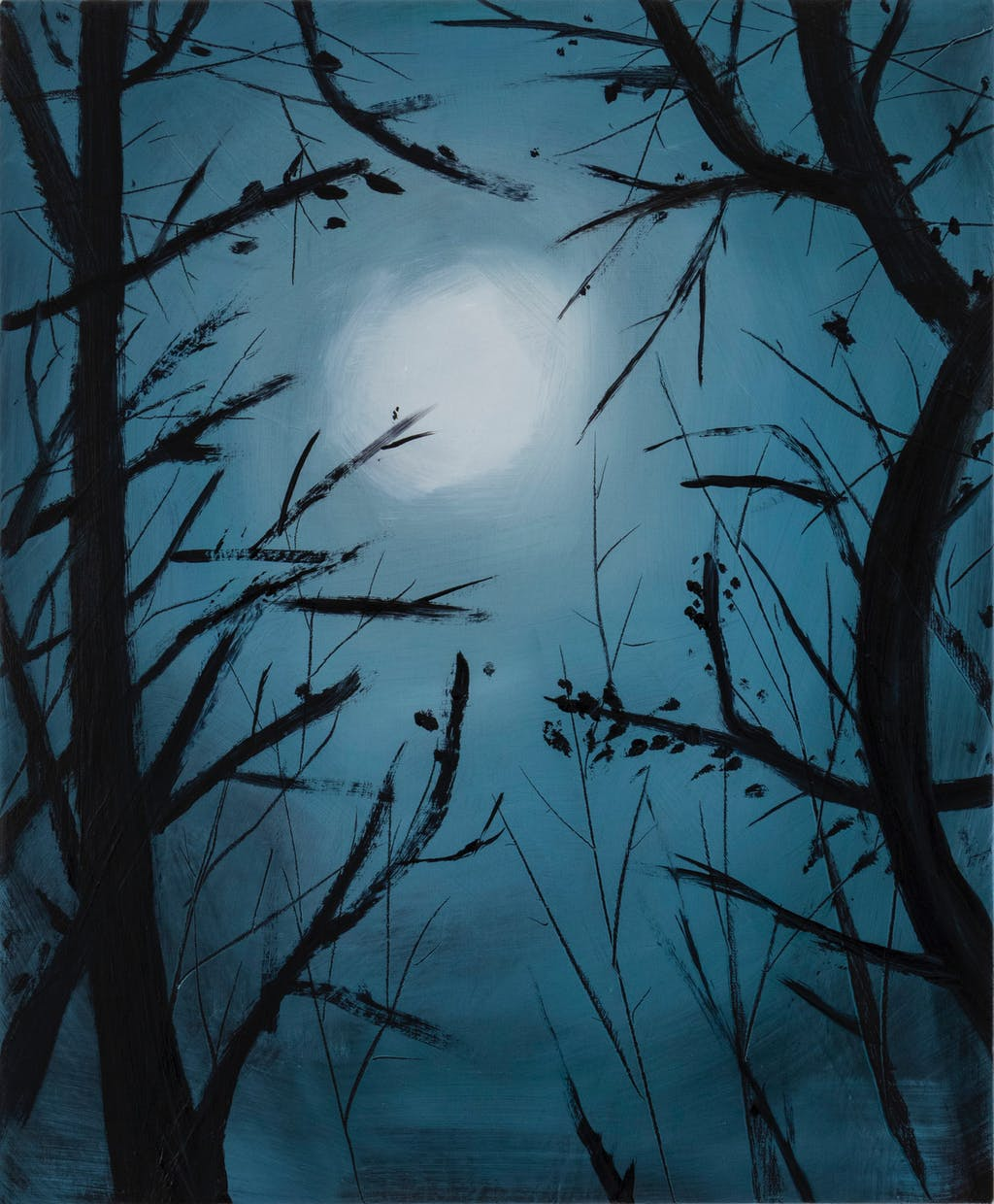 The moon and trees - © Paris Internationale
