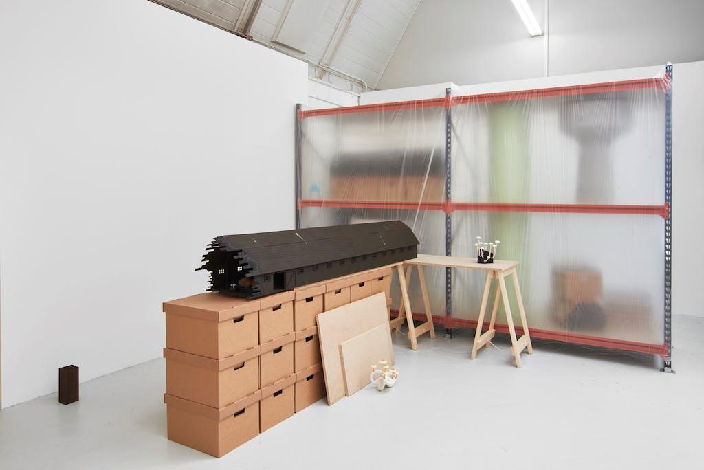 Installation view, Royal Academy Schools Show, 2019 - © Paris Internationale