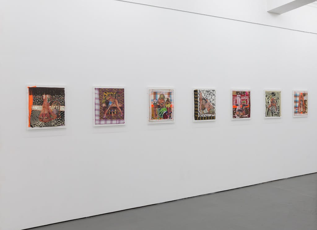 Patricia Kaersenhout Your History Makes Me So Horny, 2011 Installation view Nest Den Haag (NL) - © Charlott Markus, Paris Internationale